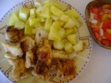 Křupavé maso ve vinném těstíčku recept