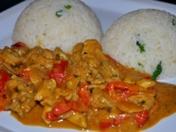 Africké kuře recept