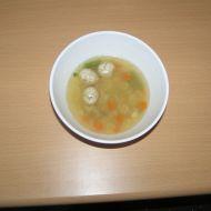 Polévka s česnekovými knedlíčky recept