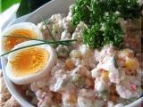 Salát s cottage sýrem recept