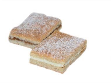 Recept linecký tvarohový koláč