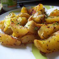 Pečené bramborové čtvrtky recept