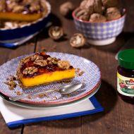 Dýňový koláč s brusinkami recept
