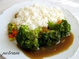 Brokolice se sladkou česnekovou omáčkou recept