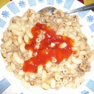 Masovo-houbová omáčka recept