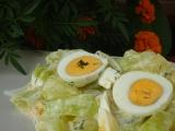 Tykvový salát s vejci recept