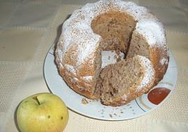 Jablečná bábovka (řezy) bez skořice recept