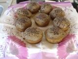 Karobové muffiny recept