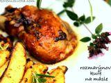 Rozmarýnové kuře na másle recept