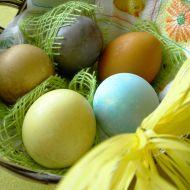 Barevná vajíčka recept