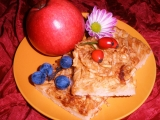 Podzimní jablíčkový koláč recept