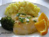 Pangas s pikantním pomerančovým přelivem recept