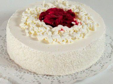 Špagetový dort