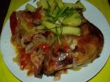 Kuřecí stehýnka v alobalu recept