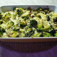 Kotlety zapečené s brokolicí a nivou recept