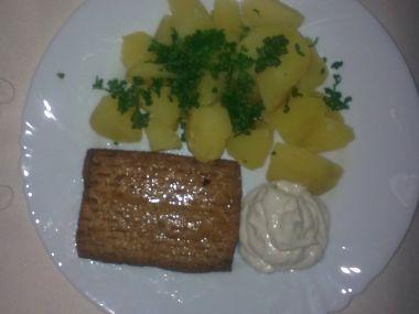 Marinované tofu se sójovou tatarkou