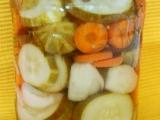 Okurky s mrkví recept
