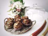 Bezlepkové makové muffiny s rebarborou recept