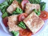 Smažené tofu v sezamu recept