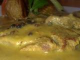 Roštěnka s pepřovou omáčkou a pečenými brambory recept ...