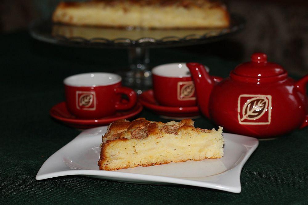 Rychlý vrstvený jablkový koláč recept
