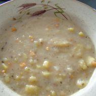 Bramborová polévka s houbami recept