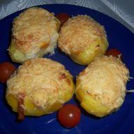 Nadívané brambory recept