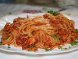 Špagety s tuňákem ... recept