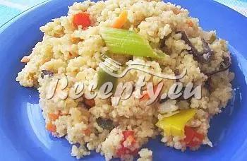 Kuskus s čínskou zeleninou recept  recepty pro děti