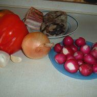 Pohanka se zeleninou a houbami recept