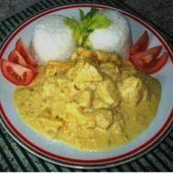 Kari kuřecí nudličky recept