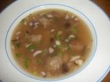 Polévka z tvrdého chleba s houbami recept