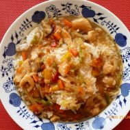 Rychlá čína s kuřecím masem recept