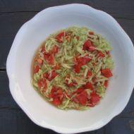 Okurkový salát s rajčaty recept