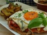 Kuřecí plátky s ostrou zeleninou a vajíčkem recept