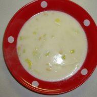 Pórkovo-smetanová polévka s kukuřicí recept