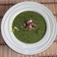 Krémová špenáto-fazolová polévka recept