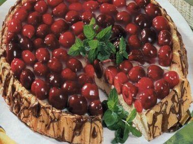 Třešňový koláč tety Jitky