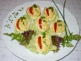 Vejce se sardelovou náplní recept