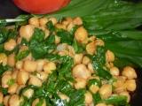 Cizrna s medvědím česnekem recept