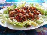 Letní salát s krůtím masem recept