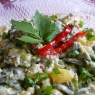 Bramborový salát se sušenými rajčátky recept