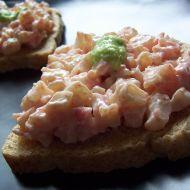 Jednoduchý krabí salát recept