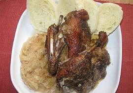 Staročeská kachna s knedlíkem a se zelím recept