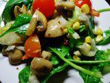 Salát se žampiony recept