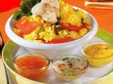 Indický rýžový salát