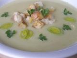 Petrželová krémová polévka recept