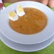 Brambory s vejci na paprice recept