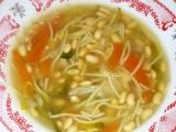 Sójová polévka s nudlemi recept