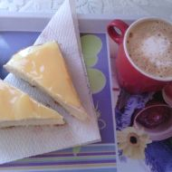 Ovocný koláč s pudinkový krémem recept